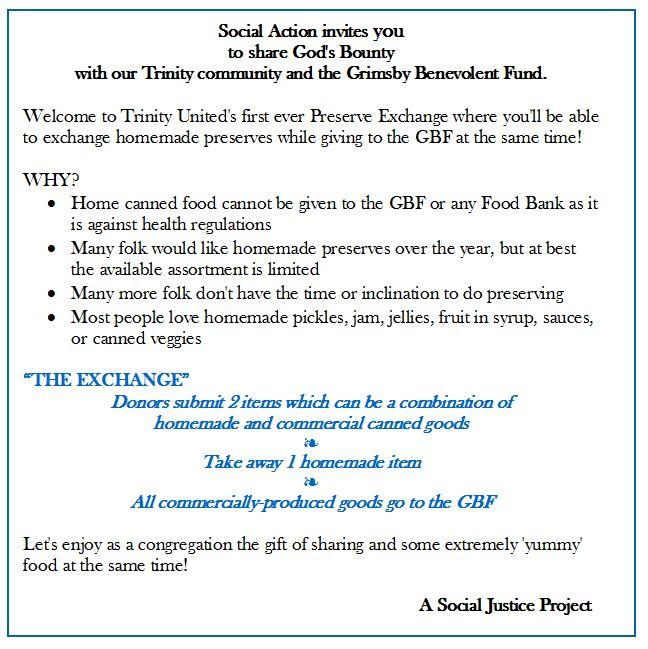 Social Justice Preserves ad